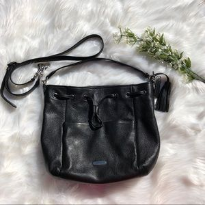 Authentic Coach Avery Leather Drawstring Bag